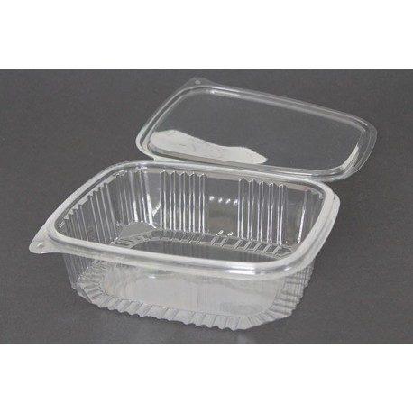 Envases con Tapa Plástico PET 1500cc Transparentes (Caja 200 Uds)