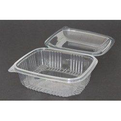 Envases con Tapa Alta Plástico PET 1500cc Transparentes (Caja 200 Uds)