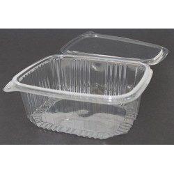 Envases con Tapa Plástico PET 2000cc Transparentes (Caja 200 Uds)