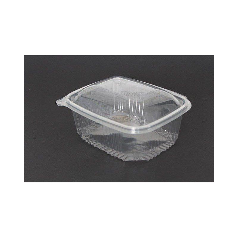 Envases de plastico con tapa para alimentos tarrinas - Caja transparente plastico ...