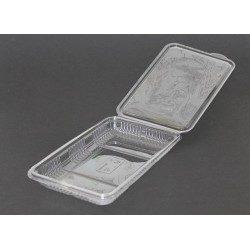 Envases Loncheados con Tapa H27 PET Transparentes (Caja 400 Uds)