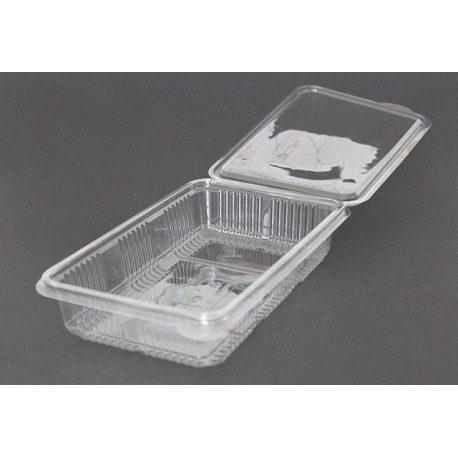 Envases Loncheados con Tapa  H40 PET Transparentes