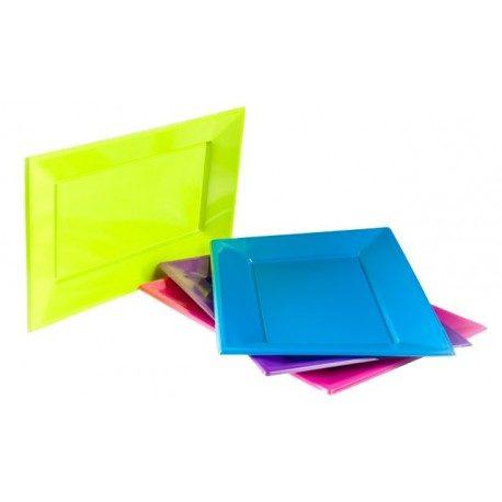 Bandejas de Plástico PS Doradas 330mm x 225mm (Caja 120 Uds)