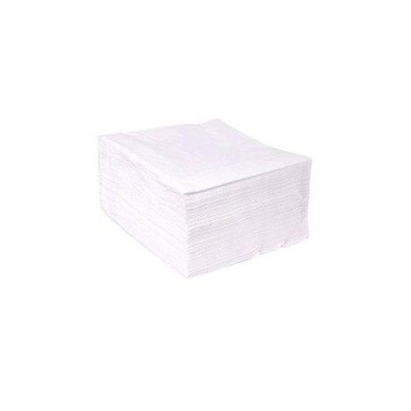 Servilletas Papel 30 x 30cm Blancas 1 Capa