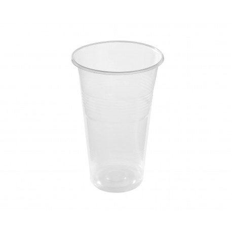 Vasos de Plástico Irrompible 500 cc Alto Transparentes
