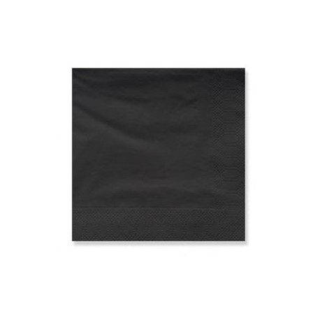 Servilletas Papel Tissue 33 x 33 cm Negras 2 Capas