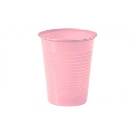 Vasos de Plástico PP 200ml Rosa Chicle