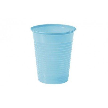 Vasos de Plástico PP 200ml Azul Baby