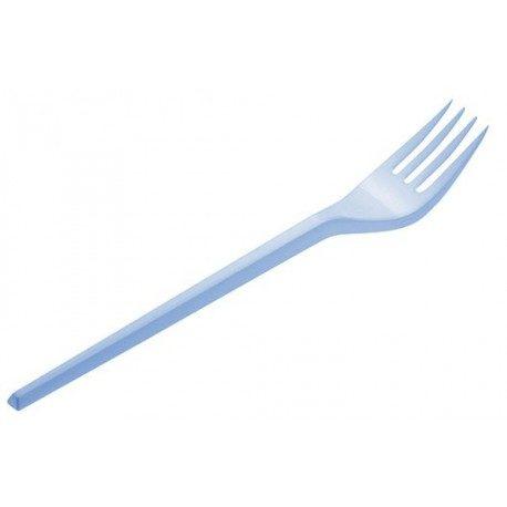 Tenedores de Plástico PS Azul Baby