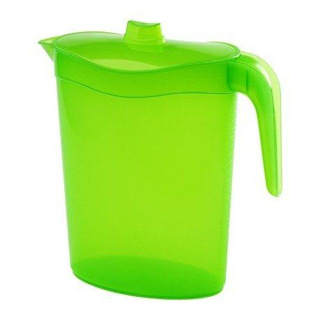Jarra con tapa para agua y liquidos barata oferta - Espatula plastico cocina ...