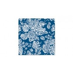 Servilletas de Papel Punta-Punta 33 x 33 cm Elegantes Azules (20 Uds)