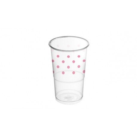 Vasos de Plástico PP Decorados Circo 250ml (8 Uds)
