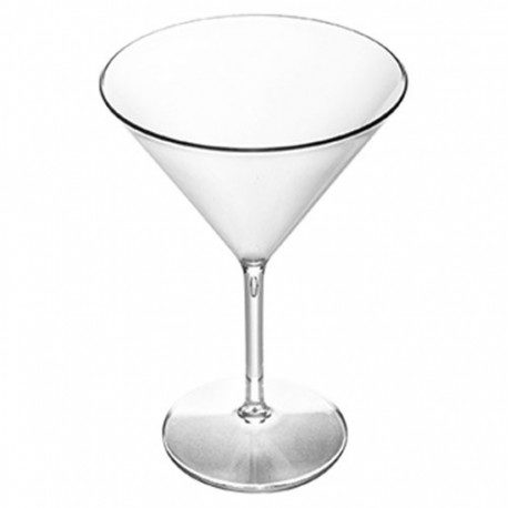 Copas Martini Reutilizables de Plástico Tritán 300ml