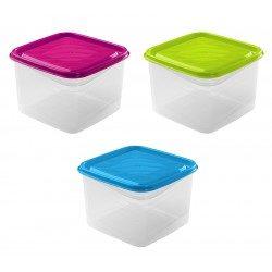 Fiambrera Tapa Colores 1,9L
