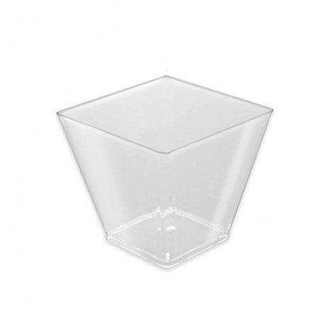Vasos Degustación Rombo Transparente