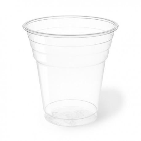 Vasos de Plástico PET 200ml Ø 7,8cm Transparentes