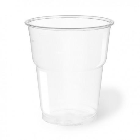 Vasos de Plástico PET 250ml Ø 7,8cm Transparentes