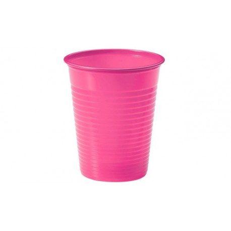 Vasos de Plástico PP 200ml Rosas