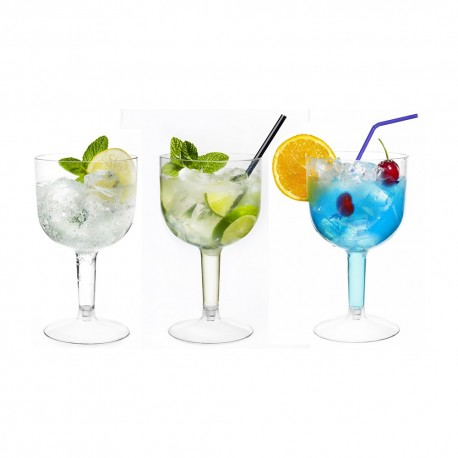 Copas de Plástico PS Gin Tonic/Cocktail 660ml