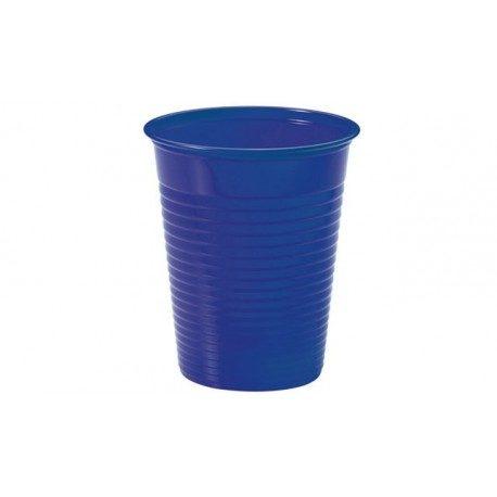 Vasos de Plástico PP 200ml Azul Marino