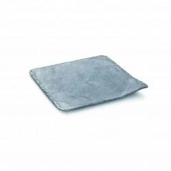 Platos de Plástico Duro PS Imitación Pizarra 11 x 11cm
