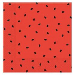 Servilletas de Papel 33 x 33 cm Decoradas Sandía (20 Uds)