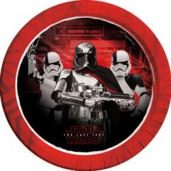 Platos de Cartón Stars Wars Jedi 23cm (8 Uds)