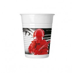 Vaso de Plástico Star Wars 200ml (8 Uds)