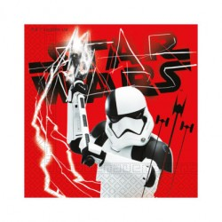 Servilletas de Papel 33 x 33 cm Star Wars (20 Uds)