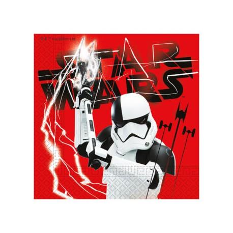 Servilletas de Papel 33 x 33 cm Star Wars (20 Uds)